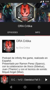 ORA Critika screenshot 1
