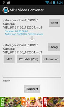 MP3 Video Converter Cartaz