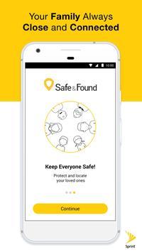 Safe & Found poster