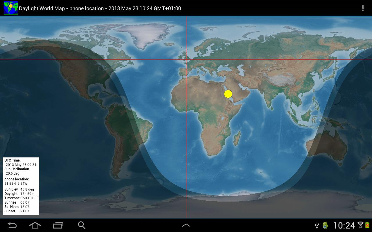 Daylight World Map for Android   APK Download