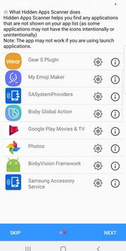 Hidden Apps and Permission Manager screenshot 2