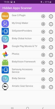 Hidden Apps and Permission Manager screenshot 4
