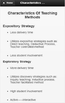 General Methods of Teaching screenshot 4