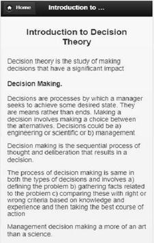 Decision  Making screenshot 2