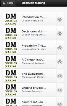 Decision  Making screenshot 3