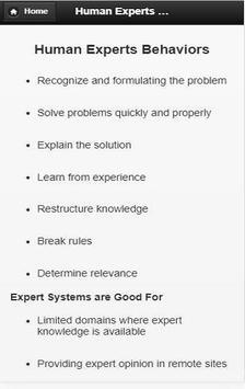 Expert System screenshot 1