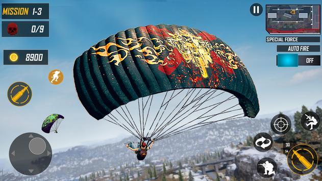 Special OPS : Survival Battleground FPS Free Fire screenshot 17