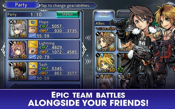 DISSIDIA FINAL FANTASY OPERA OMNIA screenshot 4