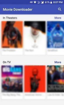 Movie Downloader screenshot 1
