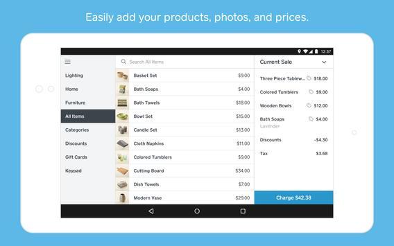 Square Point of Sale Beta screenshot 7