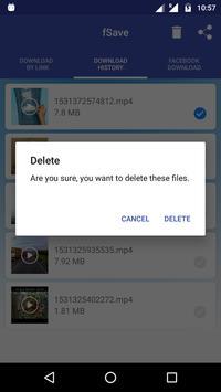 Video Downloader for Facebook : Save Videos -fSave screenshot 4
