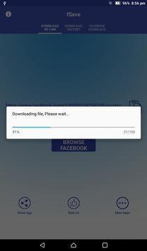 Video Downloader for Facebook : Save Videos -fSave screenshot 9