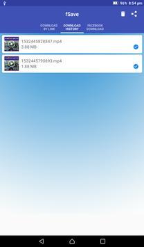 Video Downloader for Facebook : Save Videos -fSave screenshot 10