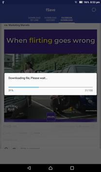 Video Downloader for Facebook : Save Videos -fSave screenshot 14