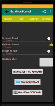 EazyType Punjabi Keyboard Emoji & Stickers Gifs screenshot 6