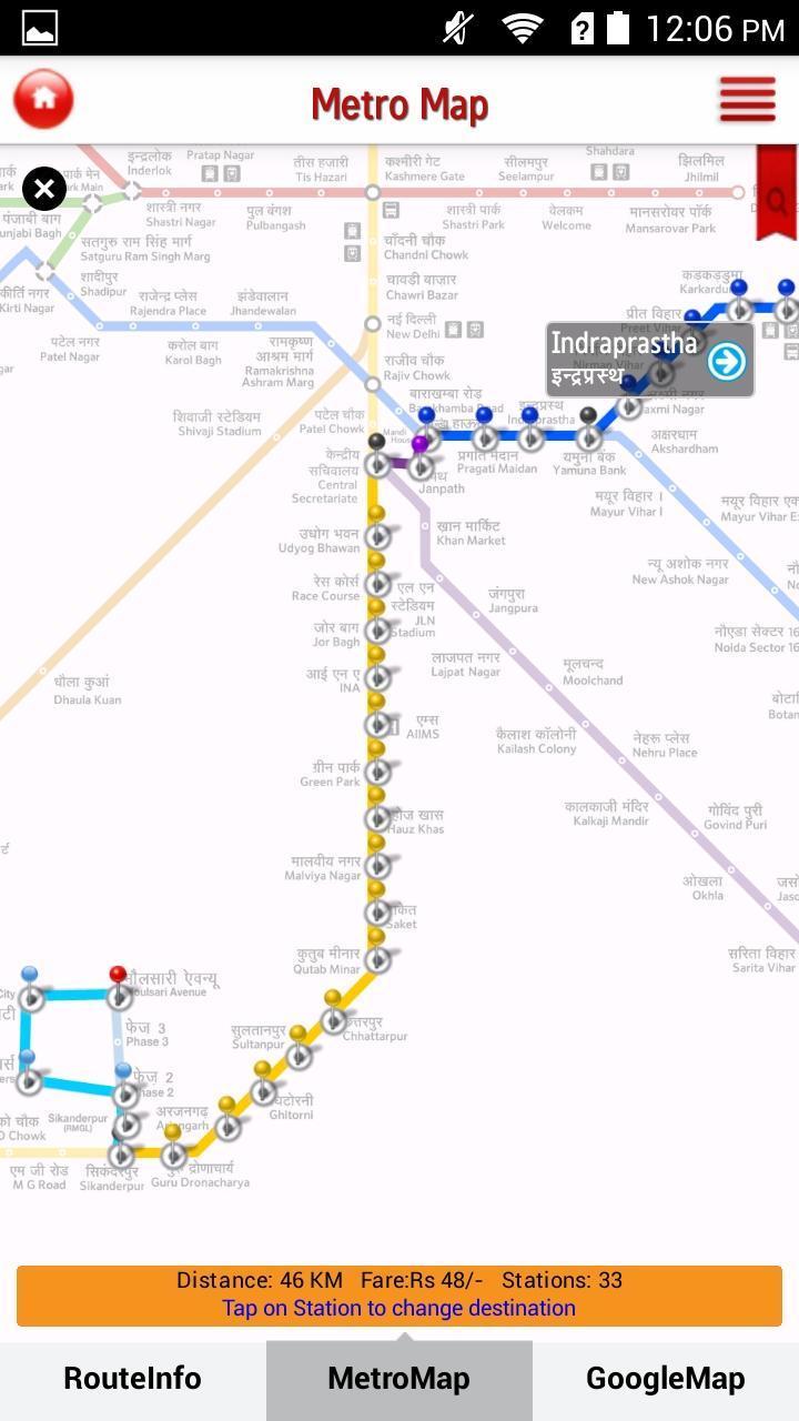Delhi Metro Rail for Android - APK Download