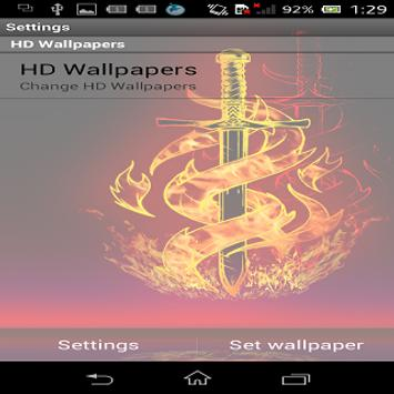 Galaxy Fire HD Live Wallpaper screenshot 4