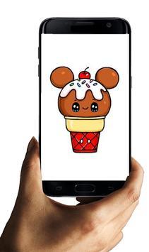 How to draw Ice Cream Characters screenshot 1