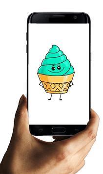 How to draw Ice Cream Characters screenshot 4