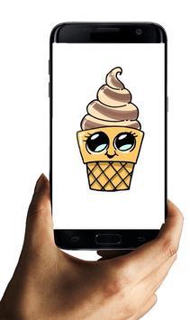 How to draw Ice Cream Characters screenshot 5