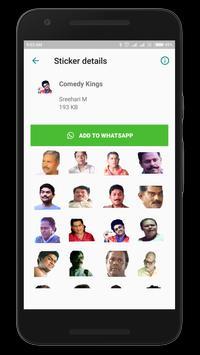 Malayalam Stickers स्क्रीनशॉट 3