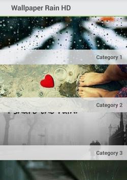 Wallpaper Rain poster