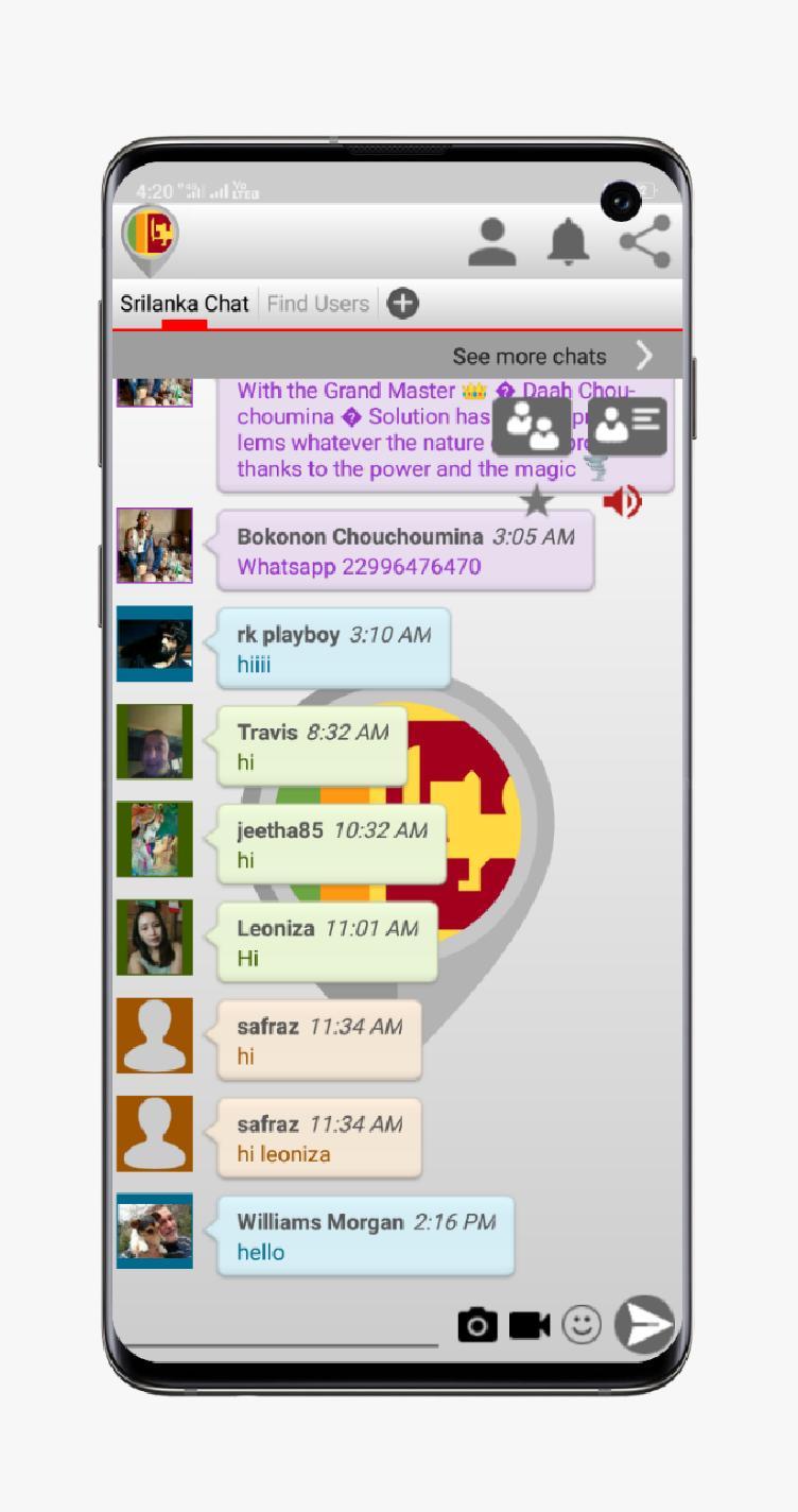 Sri chat rooms lanka free Lanka Chat