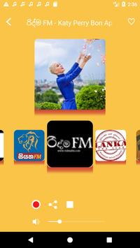 Sri Lankan Radio - Live FM Player screenshot 4