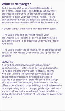 Business Strategic App screenshot 2