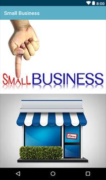 Starting a Small Business Plan poster