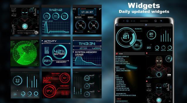 Cyber Launcher captura de pantalla 4