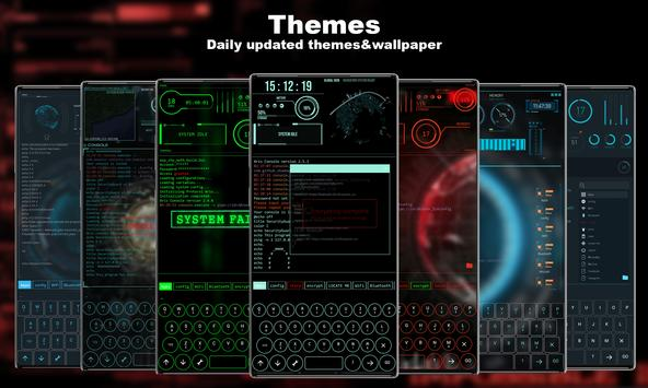 Hacker Theme スクリーンショット 4