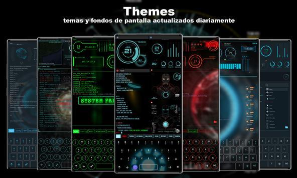 Jarvis Launcher captura de pantalla 3