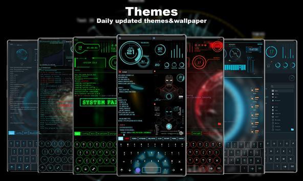 Lanceur futuriste - Thème Aris Hacker capture d'écran 1