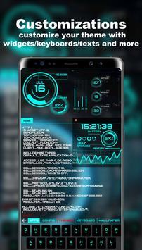 Lanceur futuriste - Thème Aris Hacker capture d'écran 3
