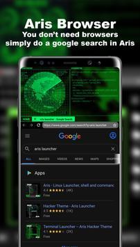 Lanceur futuriste - Thème Aris Hacker capture d'écran 4