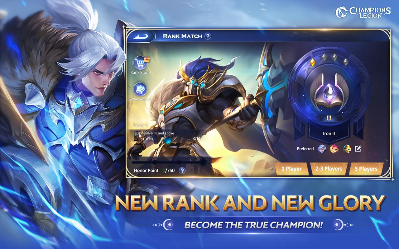 Cl Champions Legion 5v5 Moba For Android Apk Download