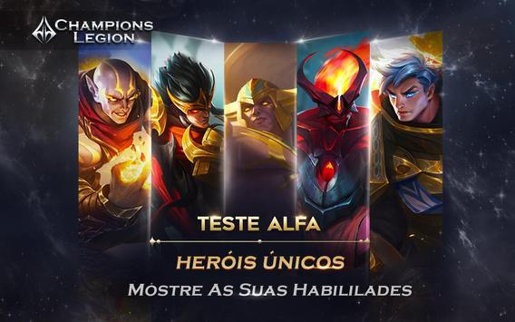 Champions Legion Cartaz