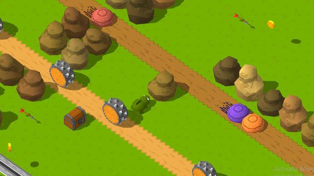 The Frog Tap and Jumping Snow Freak screenshot 3