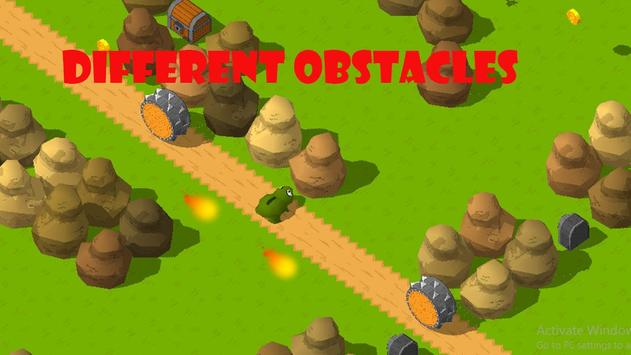 The Frog Tap and Jumping Snow Freak screenshot 2