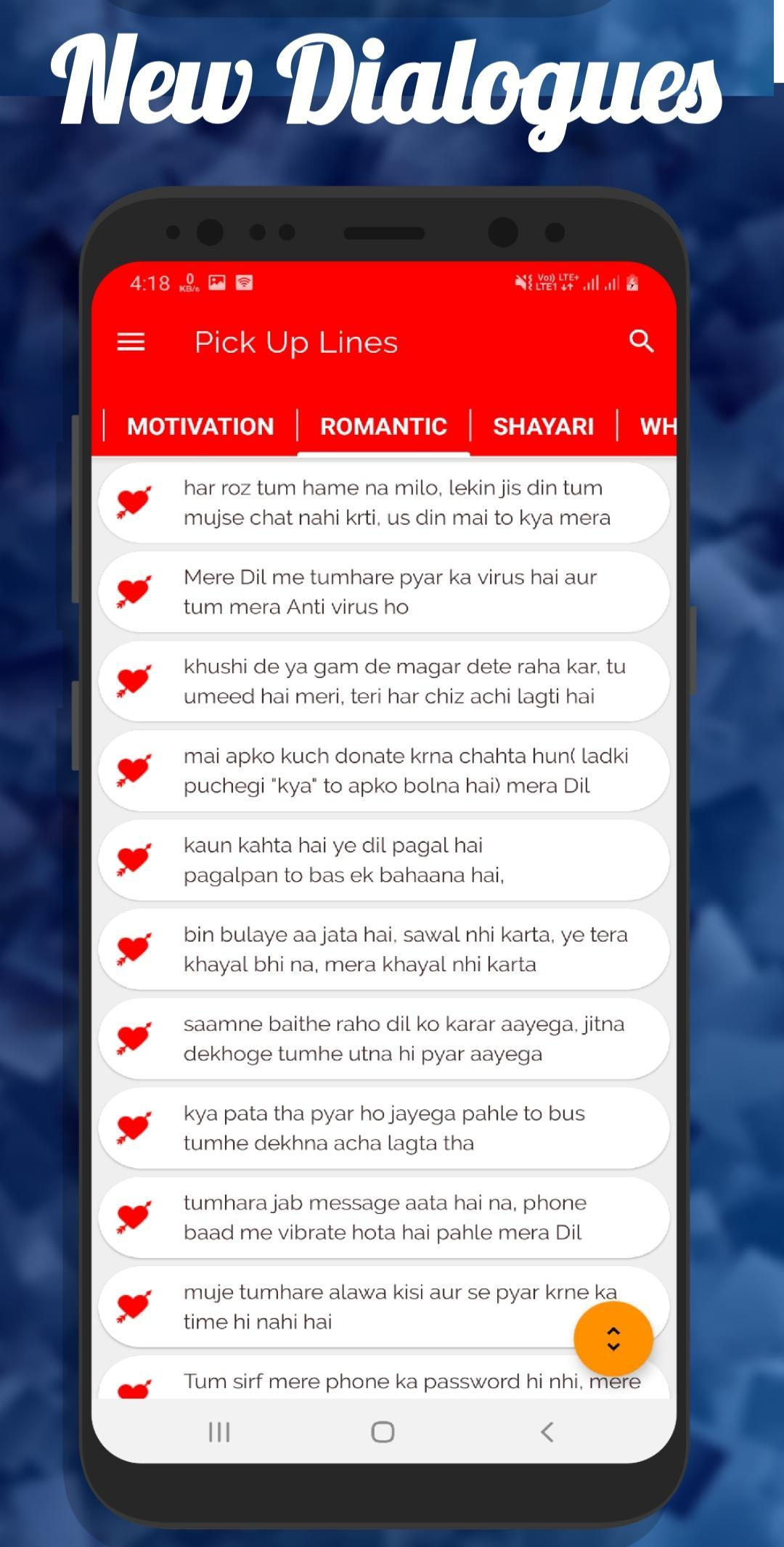 Pick Up Lines In Hindi For Android Apk Download