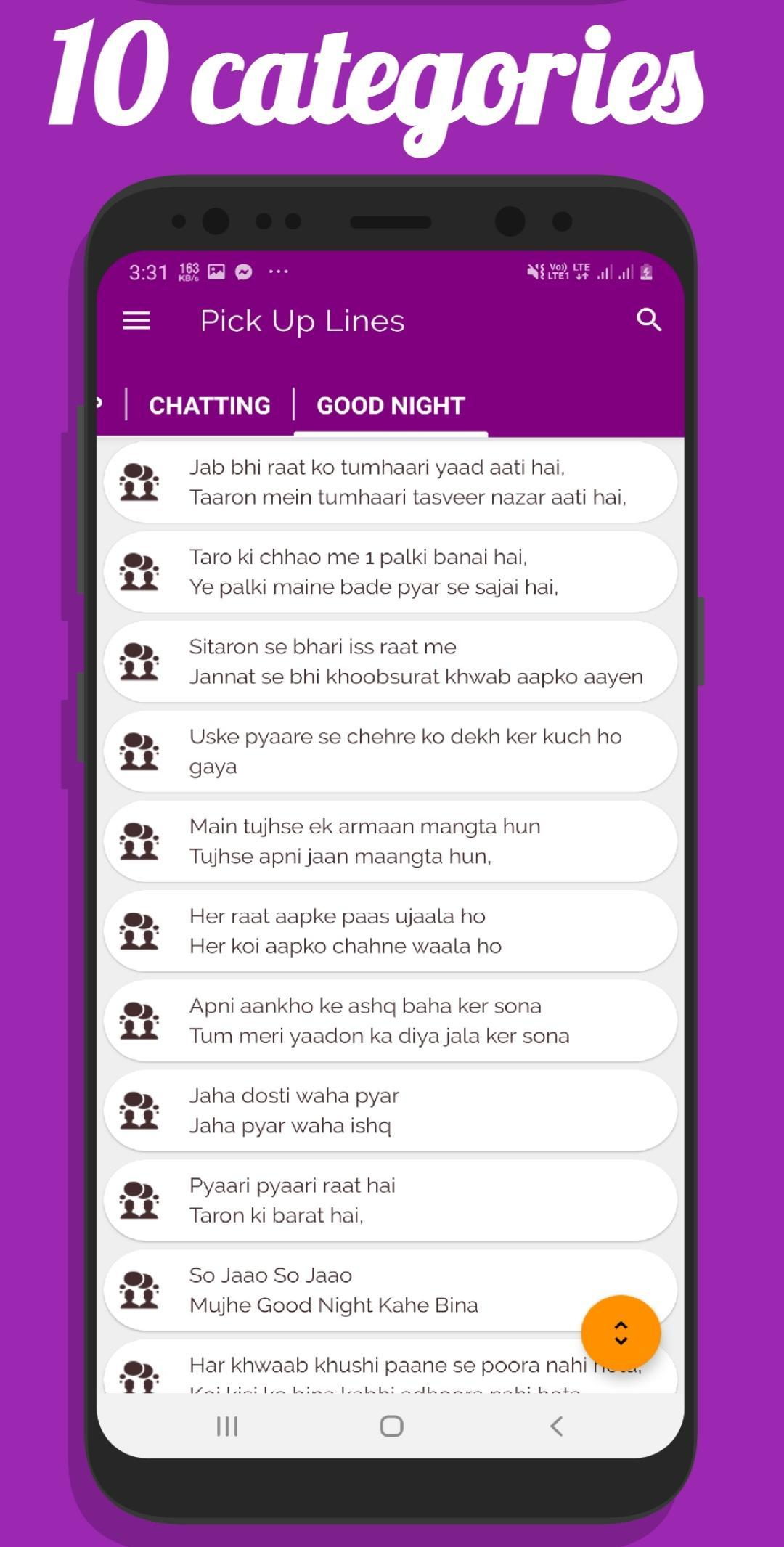 Pick up lines in hindi for Android - APK Download