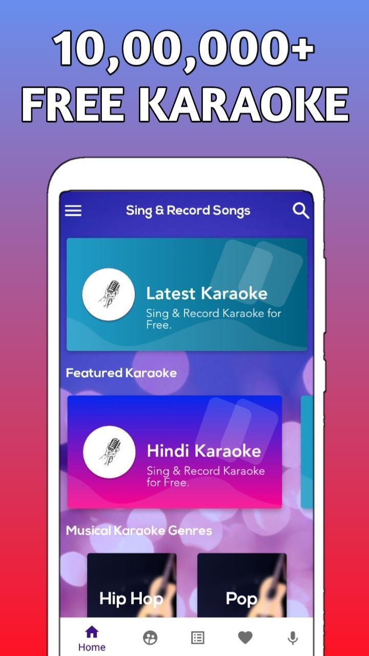 karaoke sing and record free download