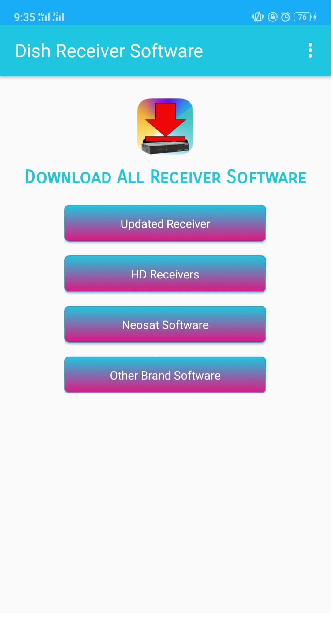 All Dish Receiver Software Downloader PowerVU Keys for Android - APK