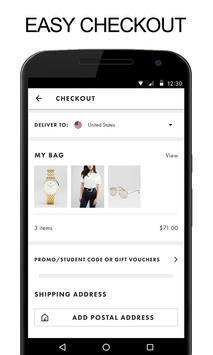 Shop for SSENSE screenshot 8