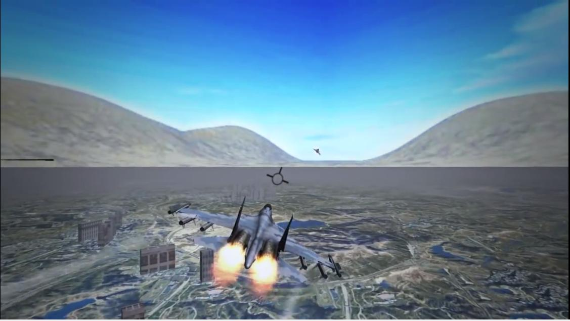 Fighter jet Dogfight Chase Air Combat Simulator for Android