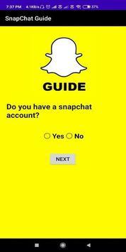 SnapChat Guide screenshot 1