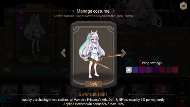 Rogue-like Princess : OFFLINE PIXEL RPG ảnh chụp màn hình 11