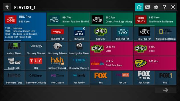 SS IPTV imagem de tela 1