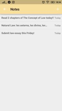 Law Made Easy! Latin Legal Terms الملصق